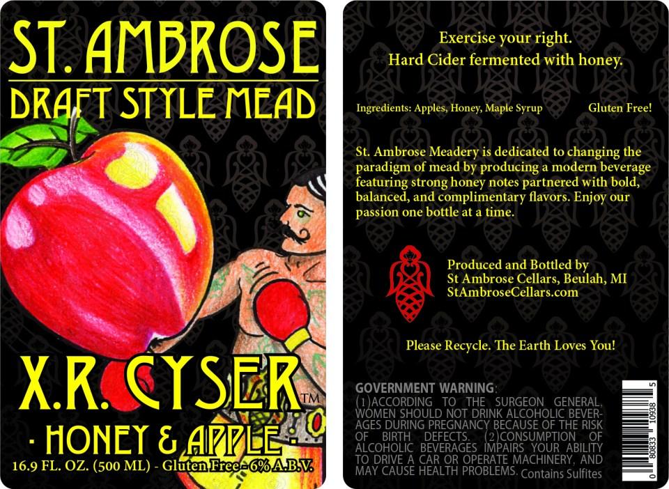 XR Cyser label