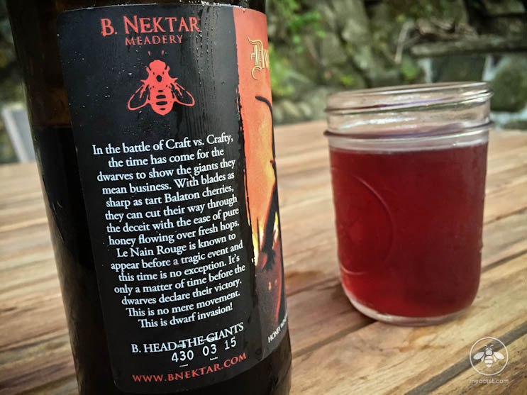 B Nektar Dwarf Invasion Bottle Description