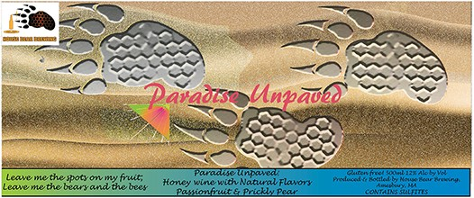 paradise unpaved label