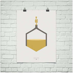 modern mead poster