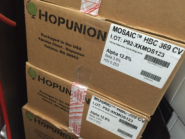 Mosaic Hops Boxes