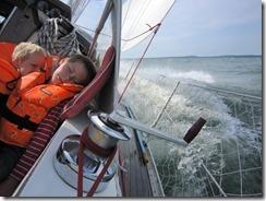 Fin segling i Ålands skärgård
