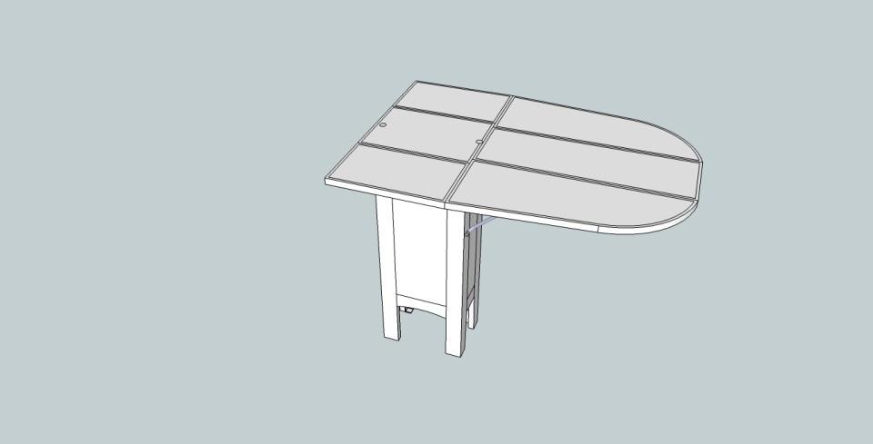 Sittbrunnsbord från ovan
