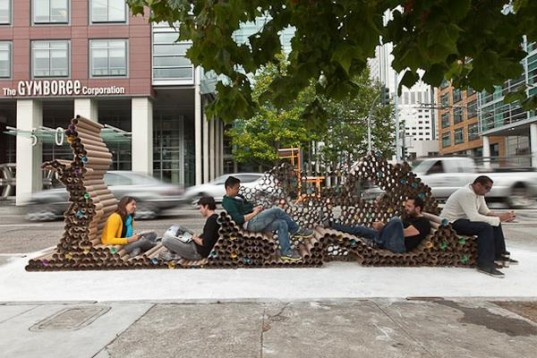 PopUp Parks Take Over Big City Parking Spaces  The