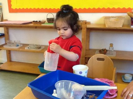 Montessori Cleaning Up