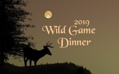 Wild Game Dinner Friday, February 8