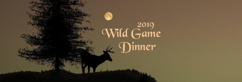 Wild Game Dinner Friday, February 8