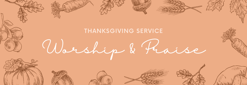 Thanksgiving Service for 10 October
