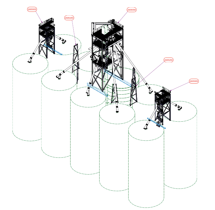 Distribution System for Sand Terminal