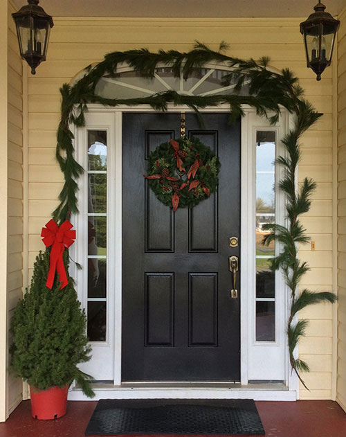 Deluxe Christmas Front Porch Package