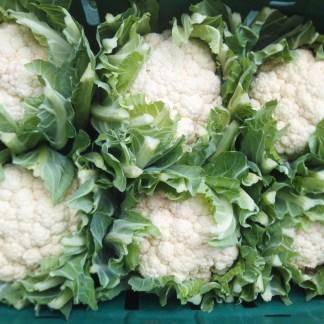 box of cauliflower