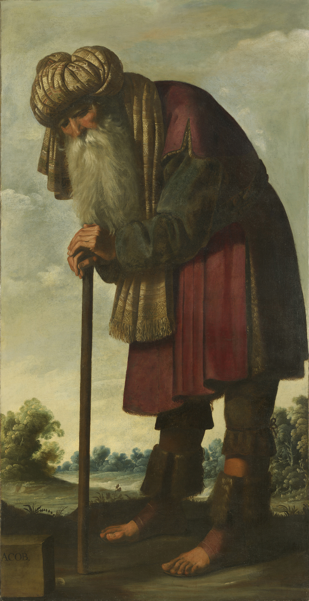 Art History News Zurbaran Jacob And His Twelve Sons