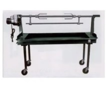 BBQ rentals - 24x60inch Char BBQ With Spit