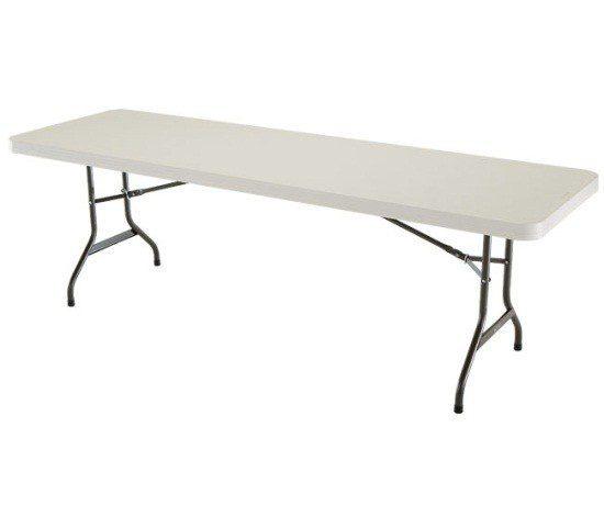 8ft Plastic Table