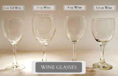 Glassware Rentals - Wine Glasses