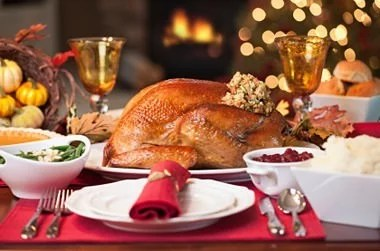 Thanksgiving Catering and Party Rentals