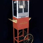 Red Popcorn Machine