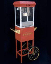 Red Popcorn Machine