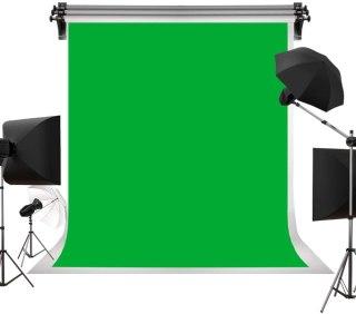 Backdrop portrait background - green