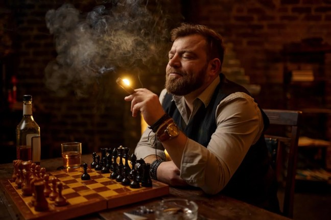 tasting cigar