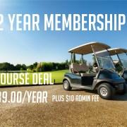 3 Year membership deal
