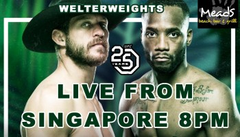 UFC Fight Night Live @ Meads Bali | Meads Beach Bar & Grill