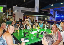 We Love Our Customers @ Meads in Bali Fresh Seafood Fish Steaks Burgers Pizza Coffee Dimatino