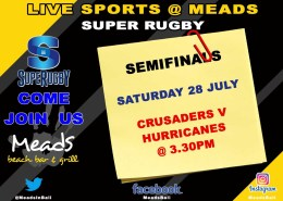 Meads in Bali Sports Super Rugby Live @ Meads Bali