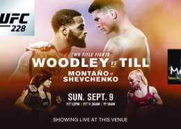 Meads Beach Bar & Grill Presents UFC 228 TWO TITLE FIGHTS