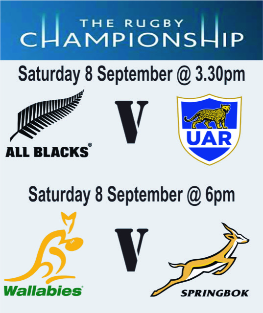 Meads Beach Bar & Grill The Rugby Championship