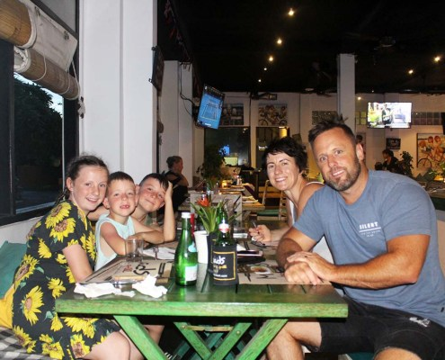 Bring the Family to Meads for Dinner in Bali