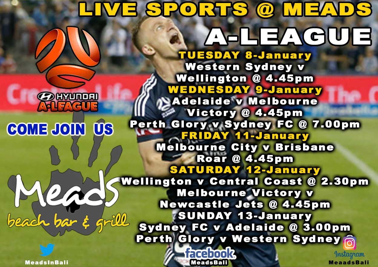 Meads in Bali Sports Schedule A League