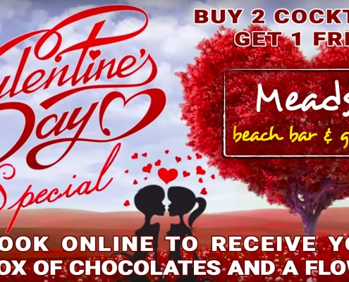 Meads Beach Bar Grill Bali Valentine Special