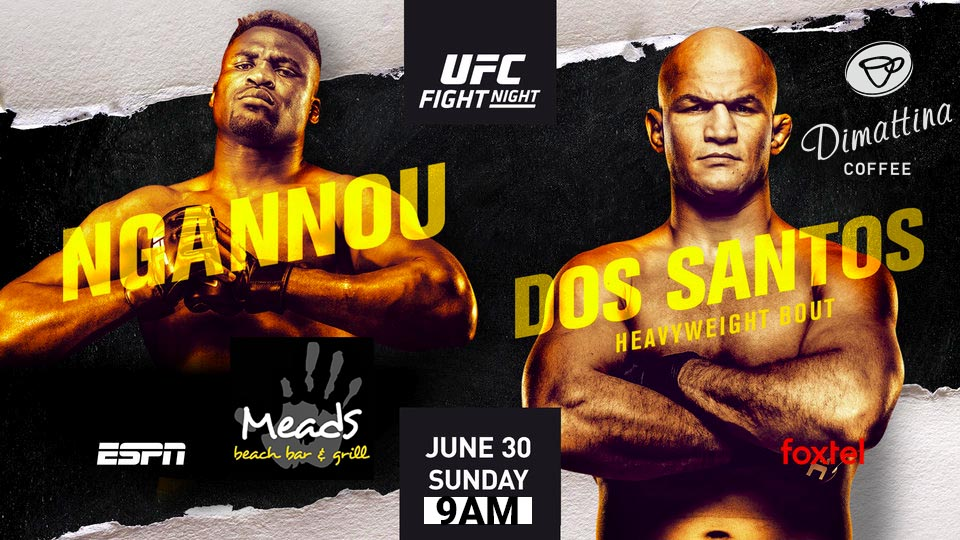 Meads Presents UFC Fight Night Ngannou v Dos Santos Live