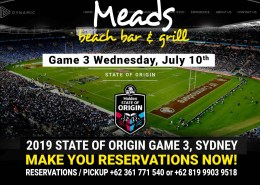 Meads State of Origin Game 3 2019 LIVE