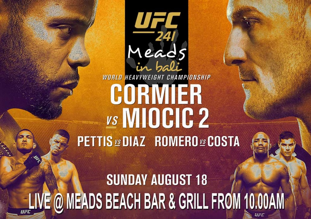 Meads in Bali Presents UFC 241 LIVE