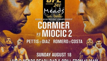 UFC 239 Jones v Santos LIVE at Meads n Bali | Meads Beach