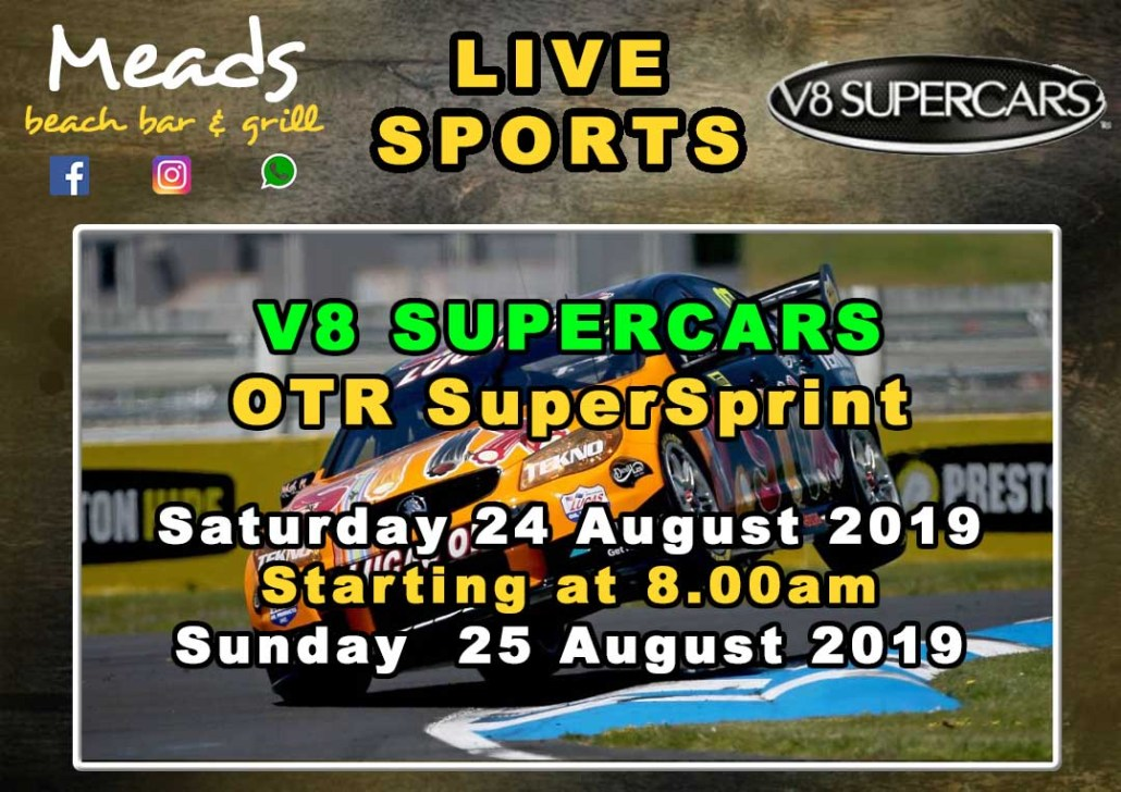 Meads in Bali Presents V8 SUPERCARS Australia