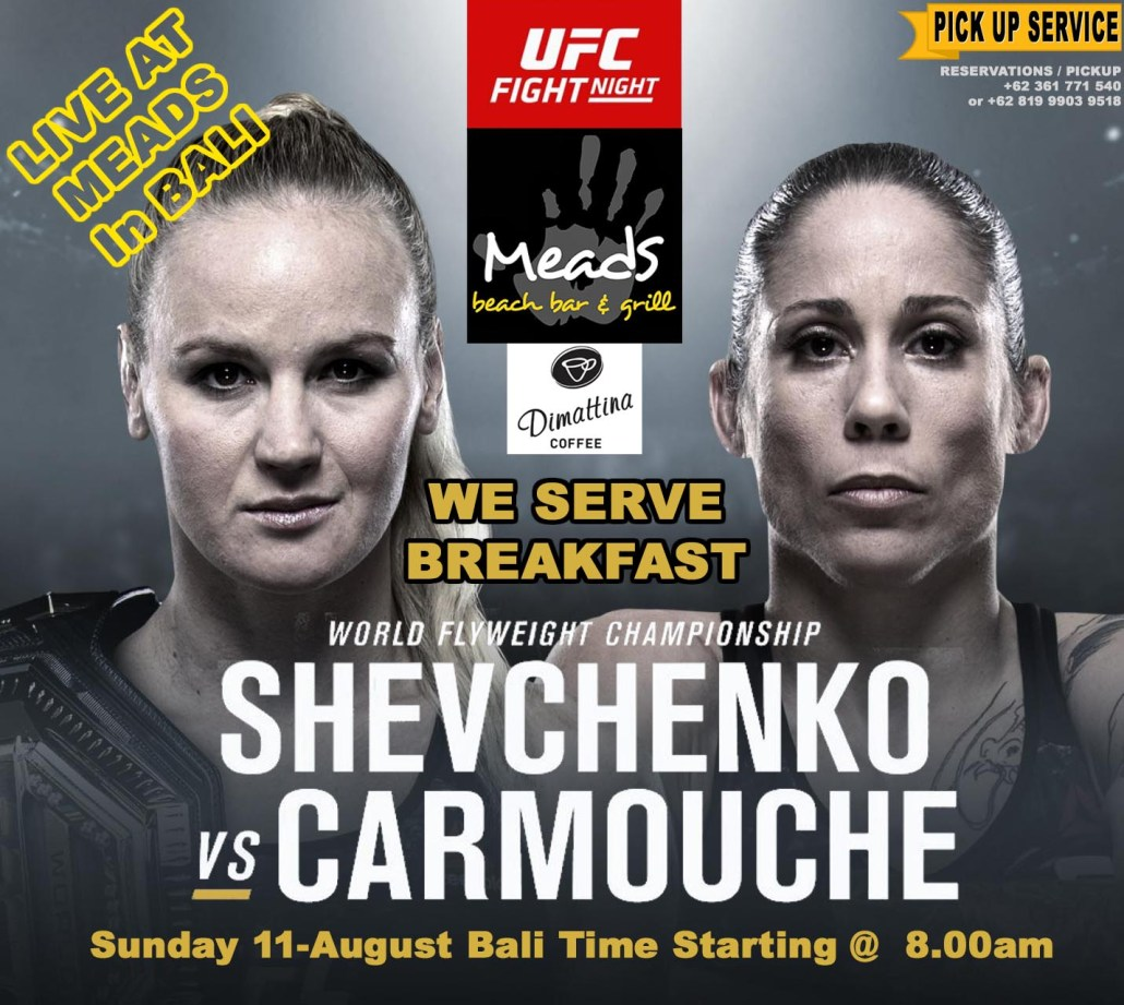 Shevchenko vs Carmouche LIVE AT MEADS