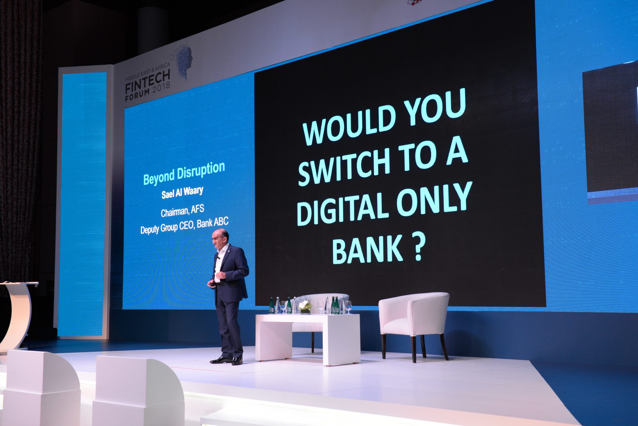 The largest FinTech Forum in the Middle East and Africa held in Manama, gathering the world's top FinTech and Artificial Intelligence expert