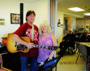 Doug and Heather at Meaford Hospital's Day Away