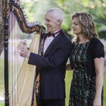 Eduard and Christine Klassen present Peruvian harp with a devotional flavour