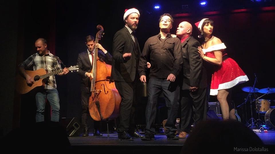"Chris Scerri's ""Blue Christmas"" was a hightlight"