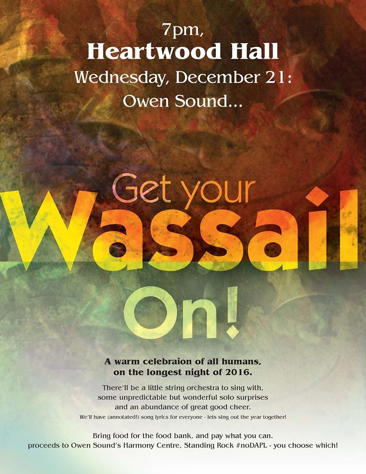 Here We Go A-Wassailing