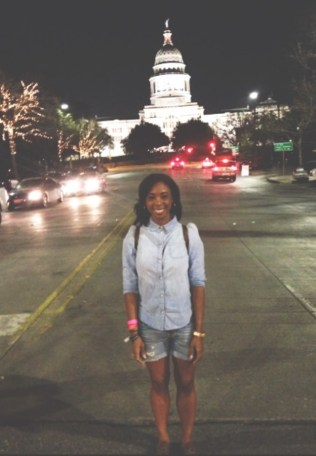 Me at the TX Capital