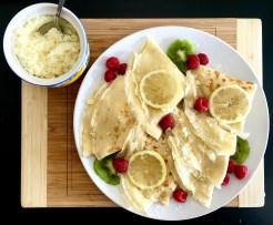 lemon crepes finished
