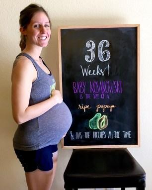 Week 36 chalkboard