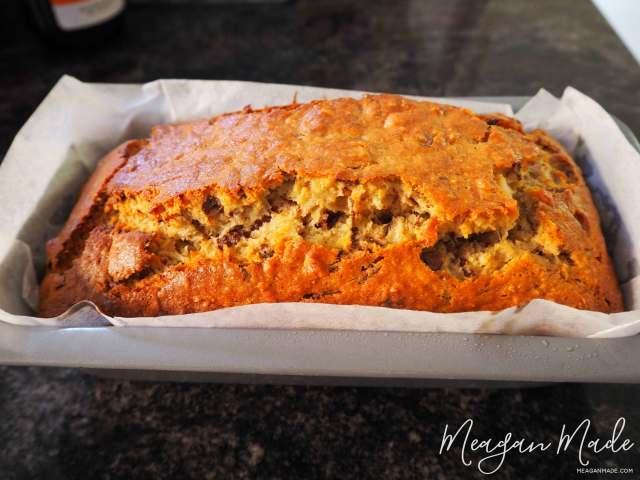 Chocolate Banana Bread | MeaganMade.com