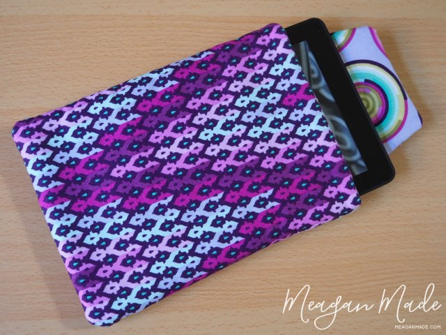 Kindle Pouch | MeaganMade.com