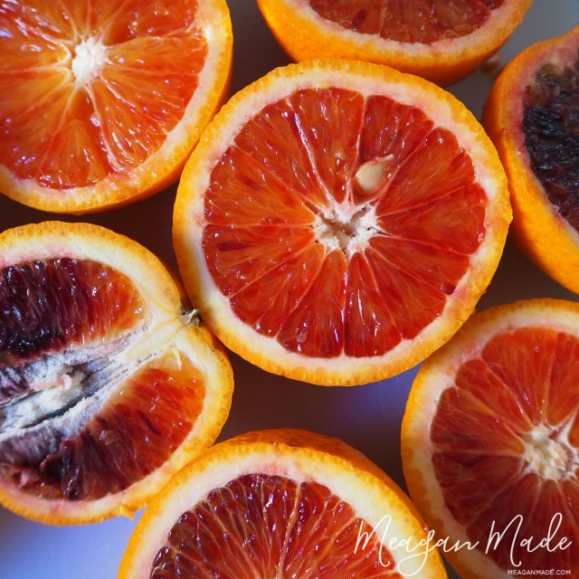 Blood oranges | MeaganMade.com